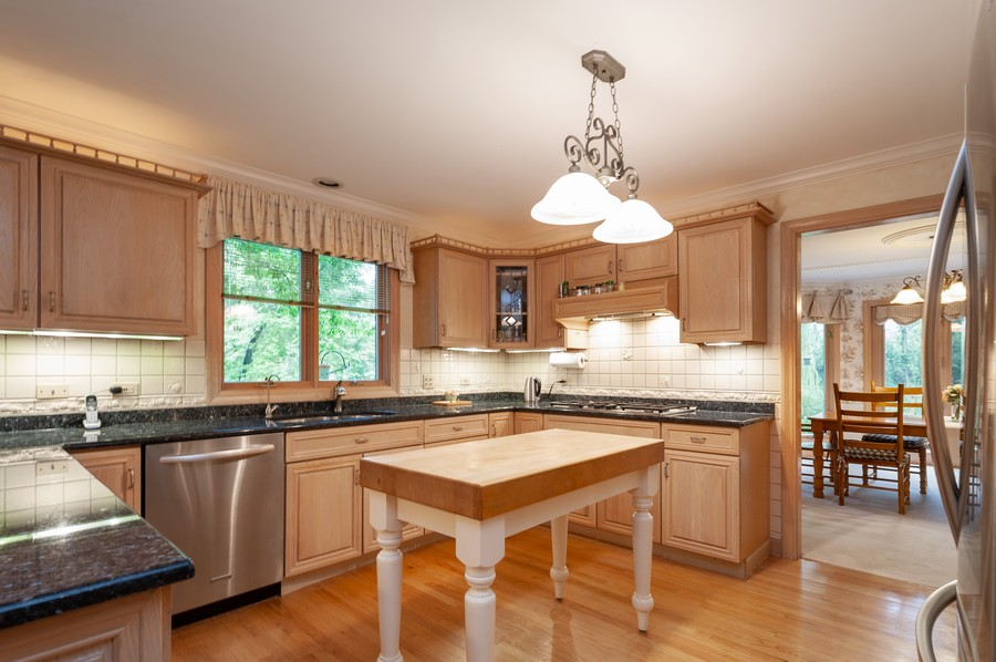 Real Estate Photography - 4658 Red Wing Lane, Long Grove, IL, 60047 - Kitchen