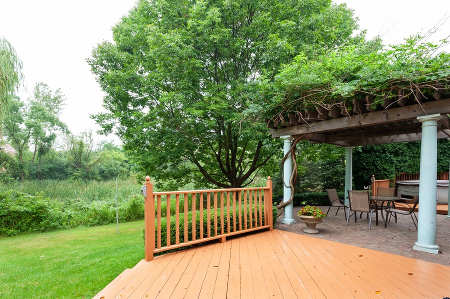 Real Estate Photography - 4658 Red Wing Lane, Long Grove, IL, 60047 - Deck