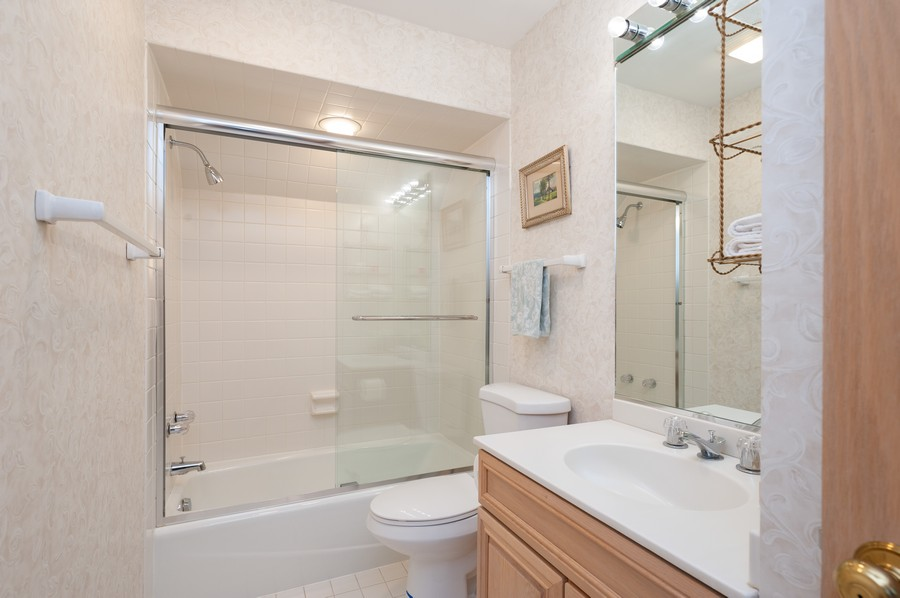 Real Estate Photography - 4658 Red Wing Lane, Long Grove, IL, 60047 - Bathroom