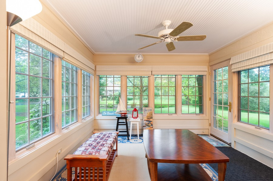 Real Estate Photography - 4658 Red Wing Lane, Long Grove, IL, 60047 - Sun Room