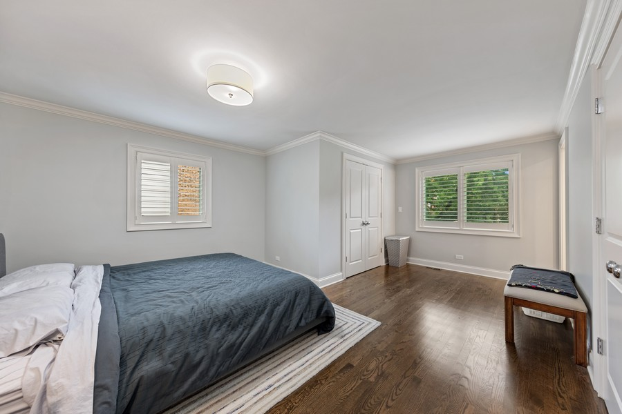Real Estate Photography - 605 Jefferson Street, Hinsdale, IL, 60521 - Master Bedroom
