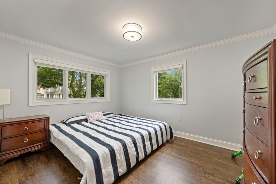 Real Estate Photography - 605 Jefferson Street, Hinsdale, IL, 60521 - 2nd Bedroom