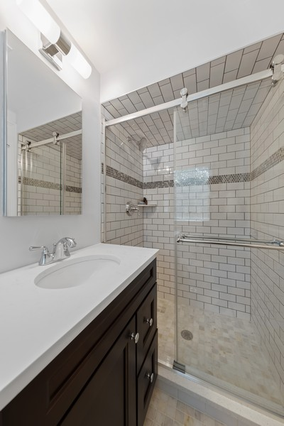 Real Estate Photography - 605 Jefferson Street, Hinsdale, IL, 60521 - Bathroom