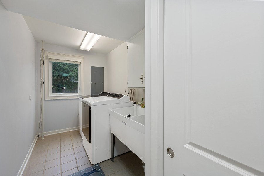 Real Estate Photography - 605 Jefferson Street, Hinsdale, IL, 60521 - Laundry Room