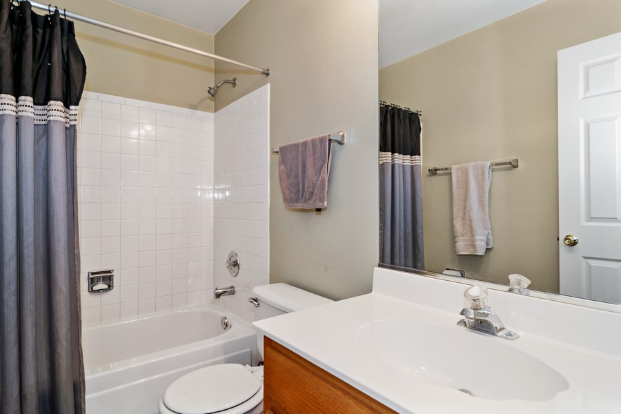 Real Estate Photography - 490 Harvard Ln, Bartlett, IL, 60103 - Guest Bathroom