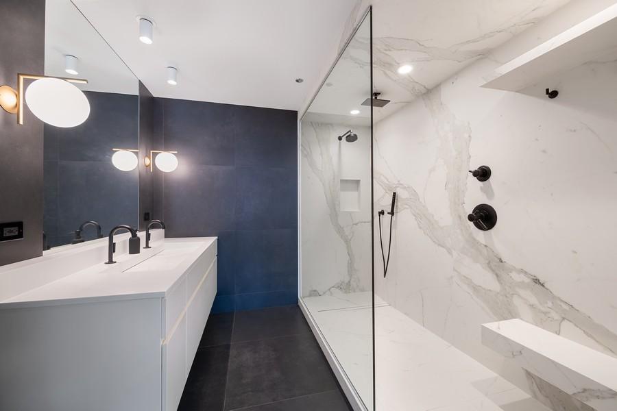 Real Estate Photography - 201 W Grand, #602, Chicago, IL, 60654 - Master Bathroom