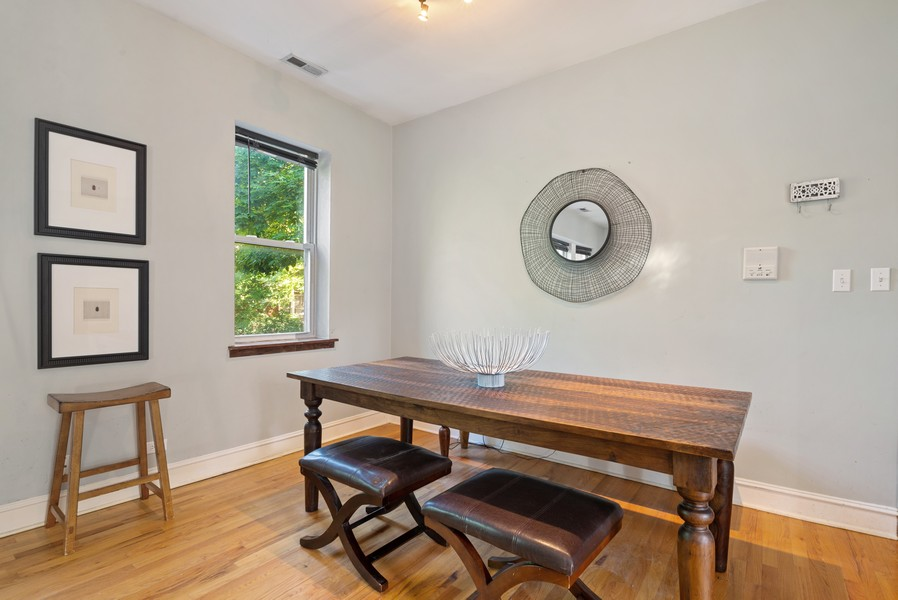 Real Estate Photography - 5812 N Wayne Ave, Unit 3B, Chicago, IL, 60660 - Dining Room