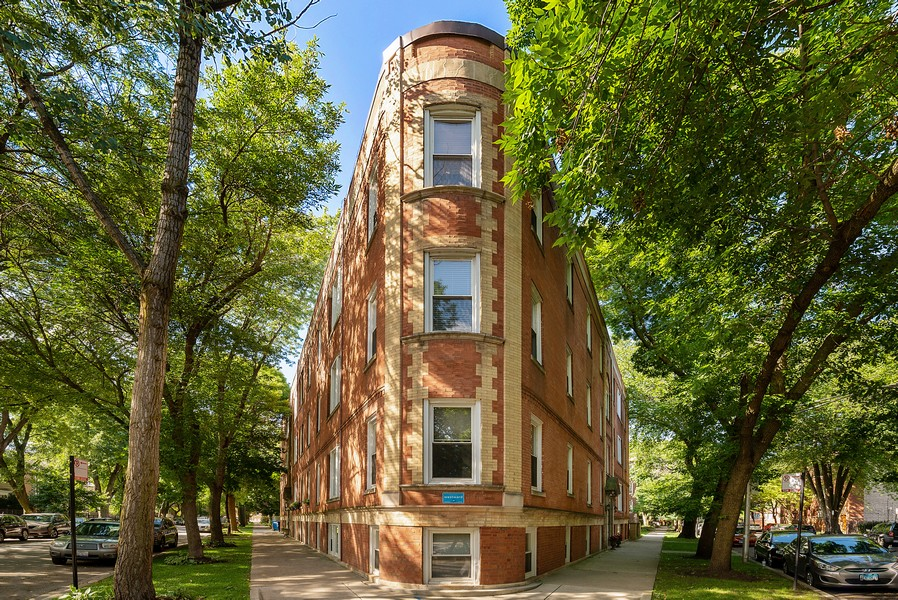 Real Estate Photography - 5812 N Wayne Ave, Unit 3B, Chicago, IL, 60660 - Front View