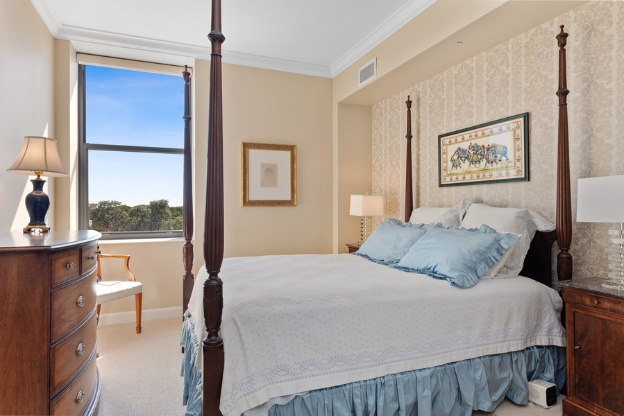 Real Estate Photography - 310 N Michigan Ave, Unit 604, Chicago, IL, 60604 - Master Bedroom