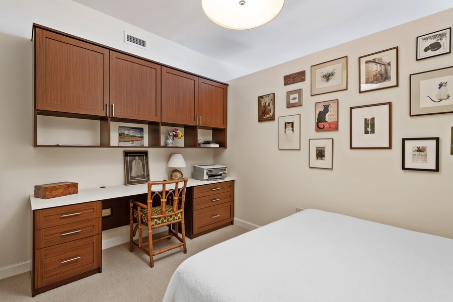 Real Estate Photography - 310 N Michigan Ave, Unit 604, Chicago, IL, 60604 - 2nd Bedroom