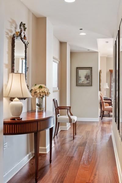 Real Estate Photography - 310 N Michigan Ave, Unit 604, Chicago, IL, 60604 - Hallway