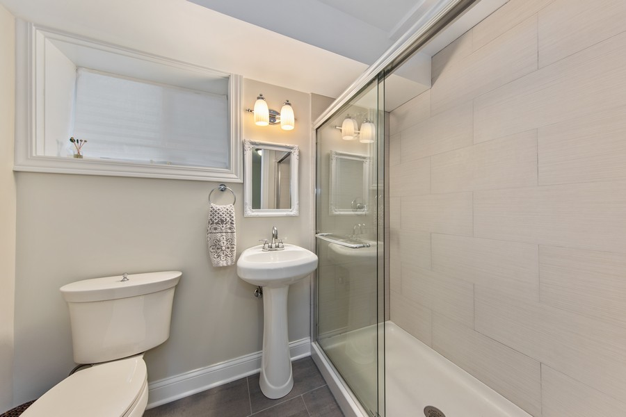 Real Estate Photography - 4144 Harvey Avenue, Western Springs, IL, 60558 - 3rd Bathroom