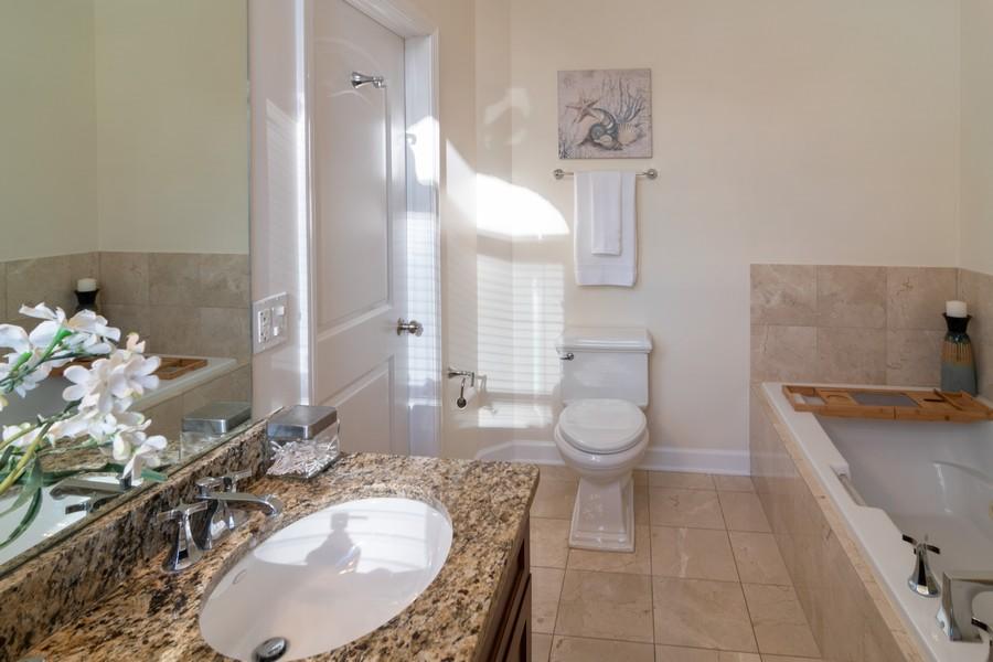 Real Estate Photography - 186 N Marion Ave, Oak Park, IL, 60302 - Master Bathroom