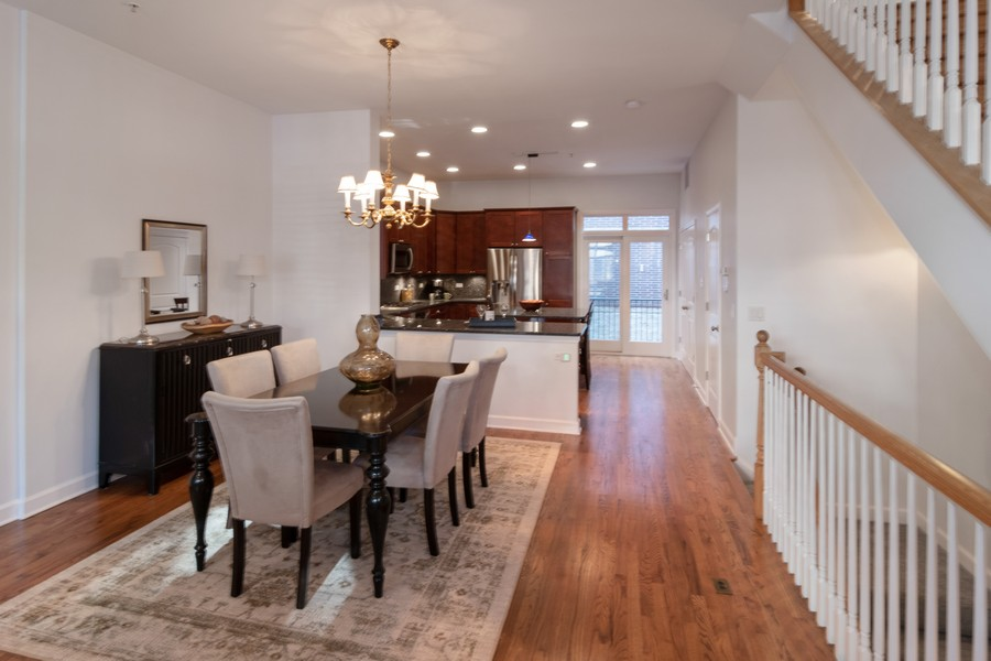 Real Estate Photography - 186 N Marion Ave, Oak Park, IL, 60302 - Dining Room