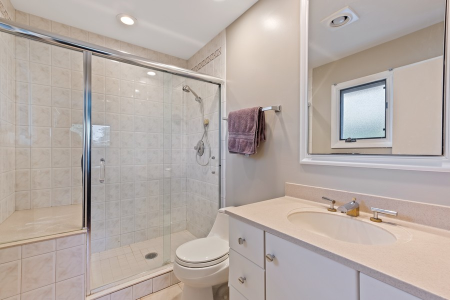 Real Estate Photography - 1773 Winthrop Rd, Highland Park, IL, 60035 - Master Bathroom