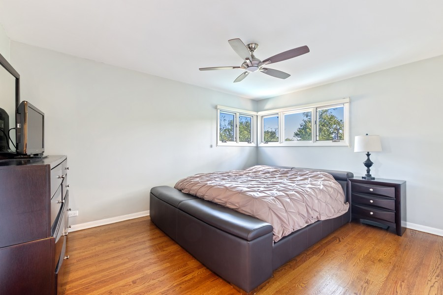Real Estate Photography - 1773 Winthrop Rd, Highland Park, IL, 60035 - Master Bedroom