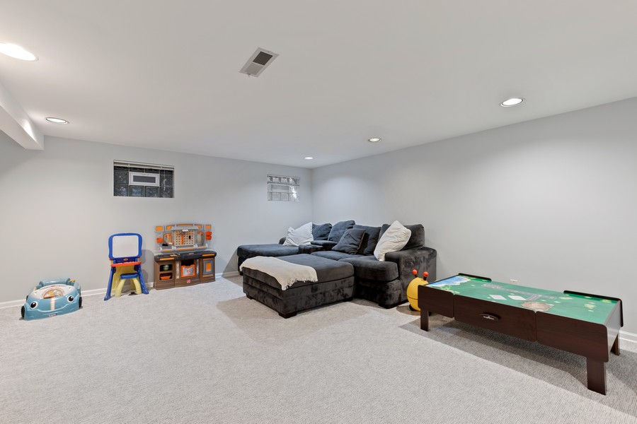 Real Estate Photography - 1773 Winthrop Rd, Highland Park, IL, 60035 - Recreational Room