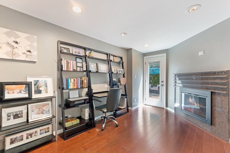 Real Estate Photography - 1773 Winthrop Rd, Highland Park, IL, 60035 - Office
