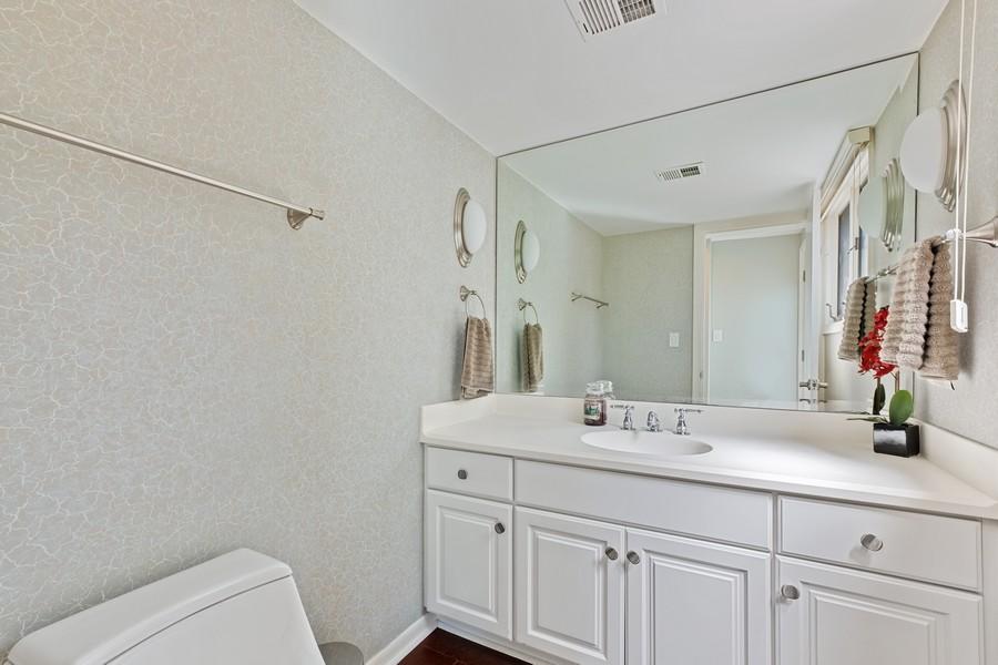Real Estate Photography - 1773 Winthrop Rd, Highland Park, IL, 60035 - Half Bath