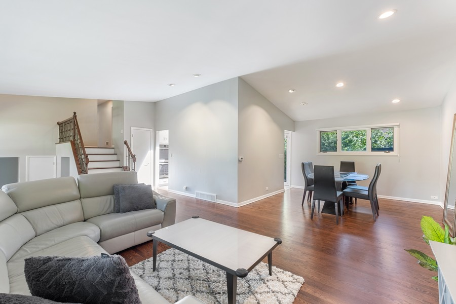 Real Estate Photography - 1773 Winthrop Rd, Highland Park, IL, 60035 - Living Room / Dining Room