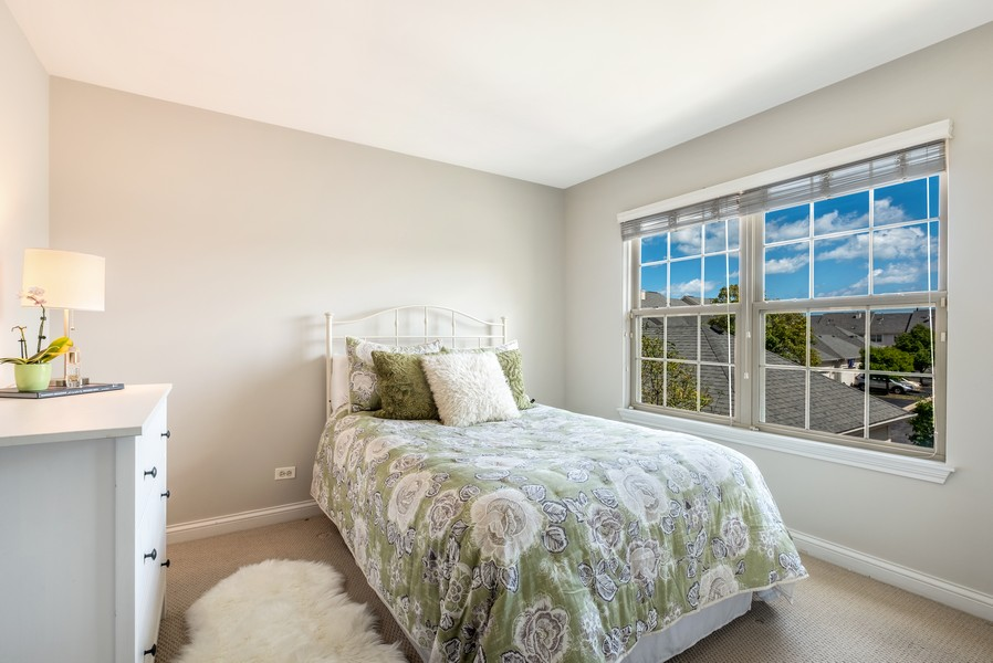 Real Estate Photography - 2217 Patriot Blvd, Glenview, IL, 60026 - 2nd Bedroom