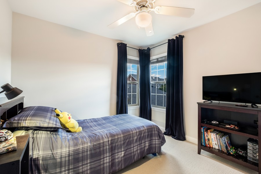 Real Estate Photography - 2217 Patriot Blvd, Glenview, IL, 60026 - 3rd Bedroom