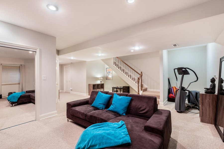 Real Estate Photography - 2217 Patriot Blvd, Glenview, IL, 60026 - Recreational Room
