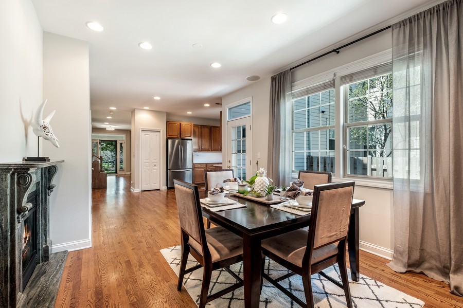 Real Estate Photography - 2217 Patriot Blvd, Glenview, IL, 60026 - Dining Room