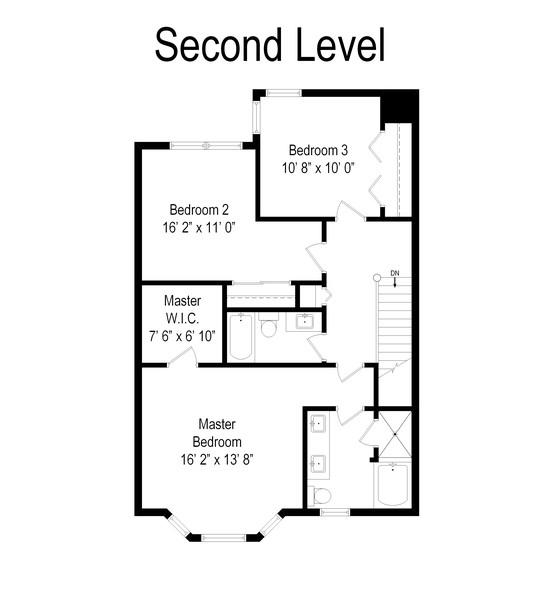Real Estate Photography - 2217 Patriot Blvd, Glenview, IL, 60026 - Floor Plan