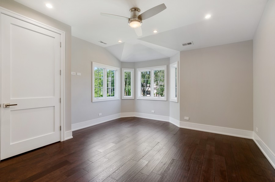 Real Estate Photography - 3602 Lawson Rd, Glenview, IL, 60026 - 3rd Bedroom