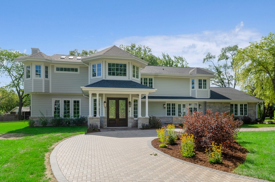 Real Estate Photography - 3602 Lawson Rd, Glenview, IL, 60026 - Front View