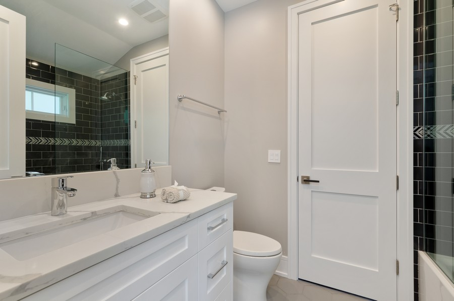 Real Estate Photography - 3602 Lawson Rd, Glenview, IL, 60026 - Bathroom