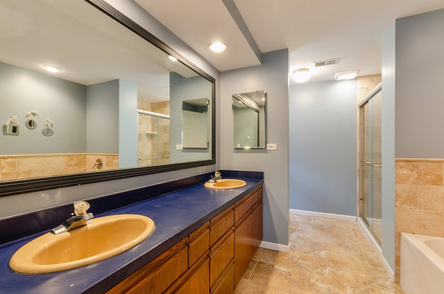 Real Estate Photography - 3537 Maple Leaf Drive, GLenview, IL, 60062 - Master Bathroom