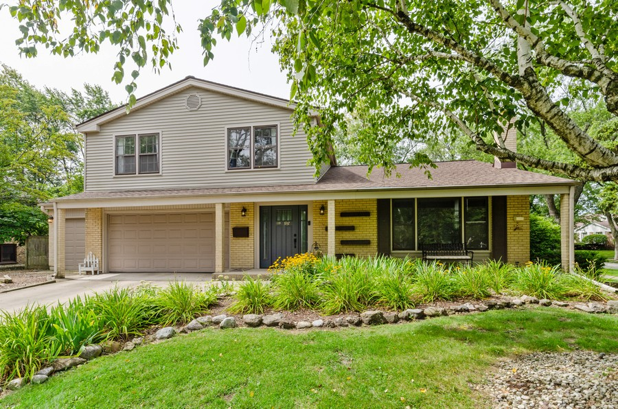 Real Estate Photography - 3537 Maple Leaf Drive, GLenview, IL, 60062 - Front View