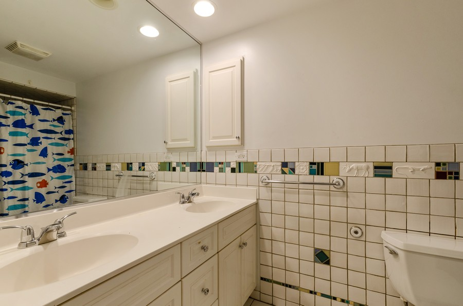 Real Estate Photography - 3537 Maple Leaf Drive, GLenview, IL, 60062 - 2nd Bathroom