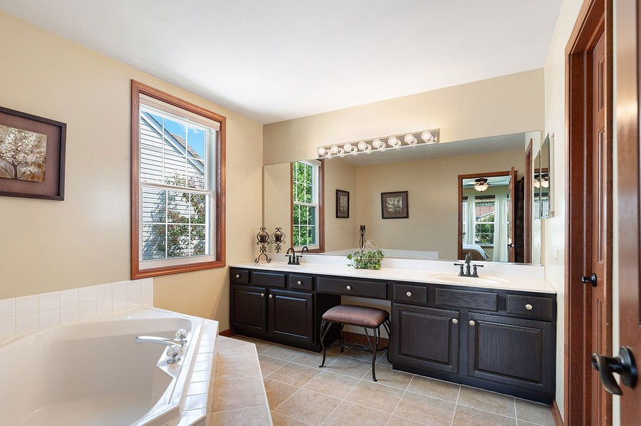 Real Estate Photography - 1723 Fairport Dr, Grayslake, IL, 60030 - Master Bathroom
