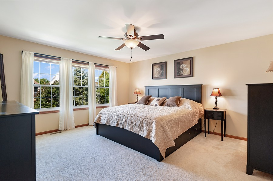 Real Estate Photography - 1723 Fairport Dr, Grayslake, IL, 60030 - Master Bedroom