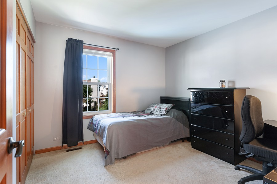Real Estate Photography - 1723 Fairport Dr, Grayslake, IL, 60030 - 3rd Bedroom