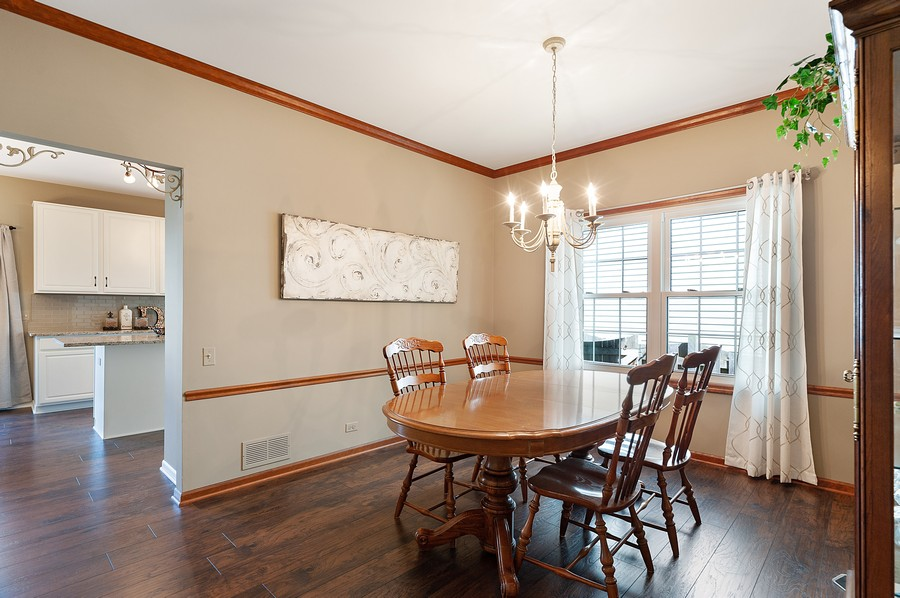 Real Estate Photography - 1723 Fairport Dr, Grayslake, IL, 60030 - Dining Room