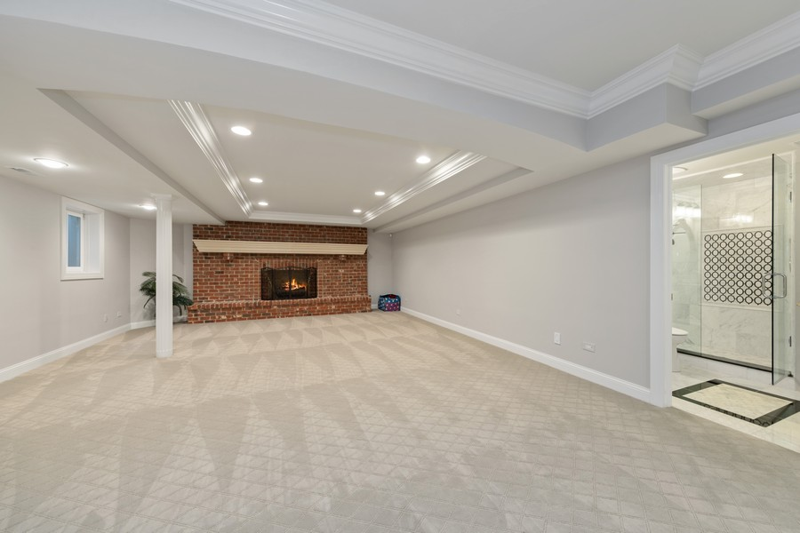 Real Estate Photography - 222 N Bruner, Hinsdale, IL, 60521 - Lower Level