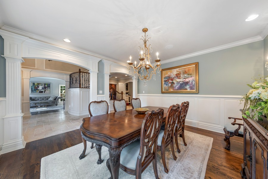 Real Estate Photography - 222 N Bruner, Hinsdale, IL, 60521 - Dining Room