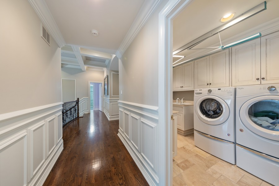 Real Estate Photography - 222 N Bruner, Hinsdale, IL, 60521 - Laundry Room