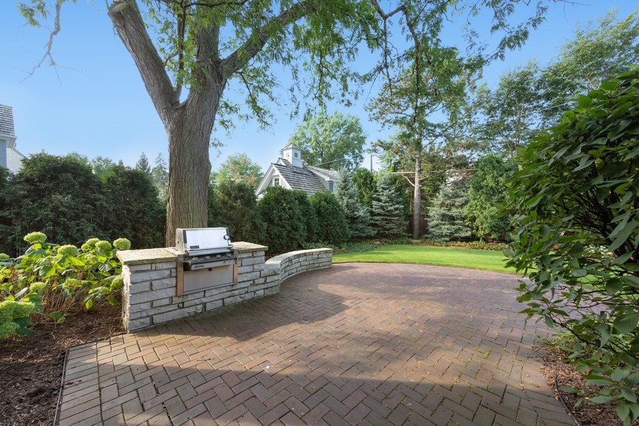 Real Estate Photography - 222 N Bruner, Hinsdale, IL, 60521 - Patio