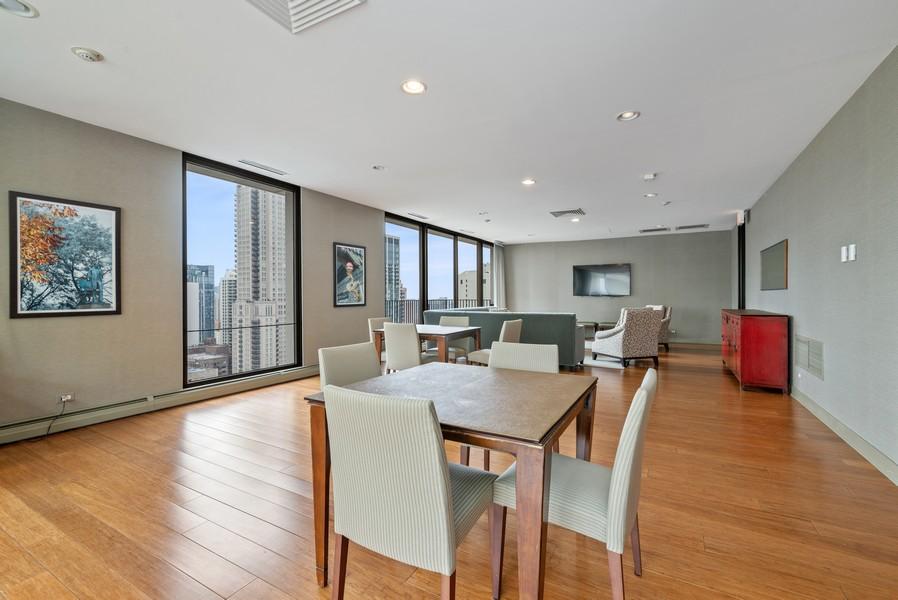 Real Estate Photography - 100 E Bellevue, Apt 25E, Chicago, IL, 60611 - Association Party Room