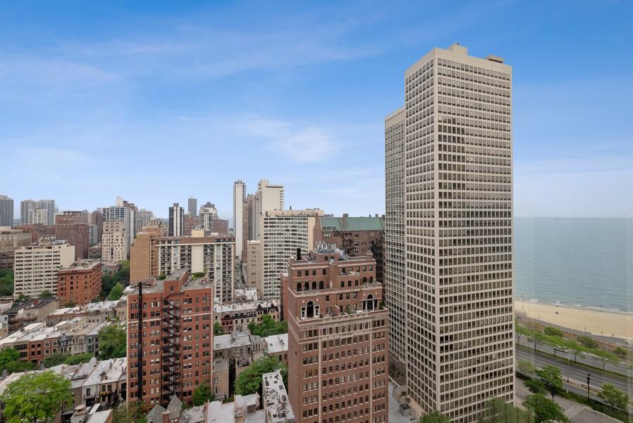 Real Estate Photography - 100 E Bellevue, Apt 25E, Chicago, IL, 60611 - View