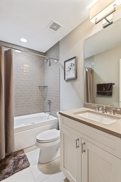 Real Estate Photography - 3222 N Southport Ave, Unit 2S, Chicago, IL, 60657 - Bathroom