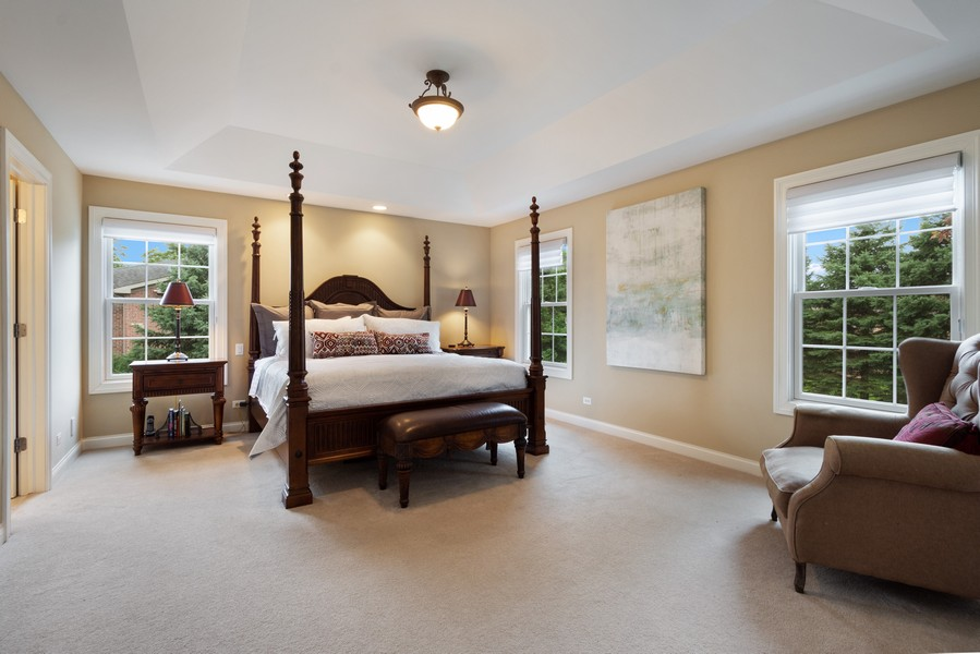 Real Estate Photography - 896 Hampstead Ct, Barrington, IL, 60010 - Master Bedroom