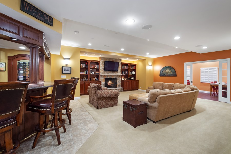 Real Estate Photography - 896 Hampstead Ct, Barrington, IL, 60010 - Basement