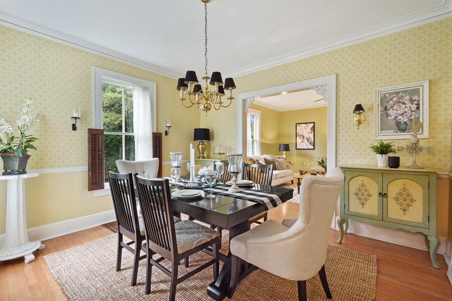 Real Estate Photography - 512 S Grove Ave, Barrington, IL, 60010 - Dining Room