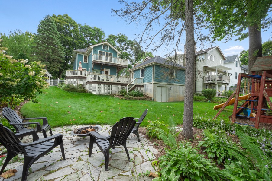 Real Estate Photography - 512 S Grove Ave, Barrington, IL, 60010 - Rear View